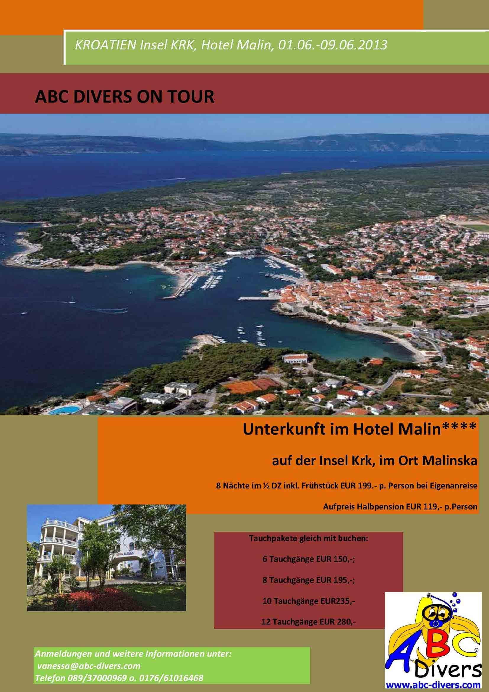 Kroatien Flyer 01.06.-09.06.2013
